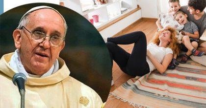 Papa Francesco: non scorderò mai il bacio dei miei genitori