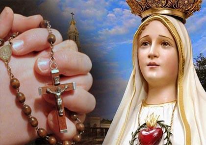 Preghiera di affidamento per un turbamento interiore alla Vergine di Fatima di Papa Francesco