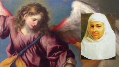 L'Angelo custode e Suor Monica di Gesù