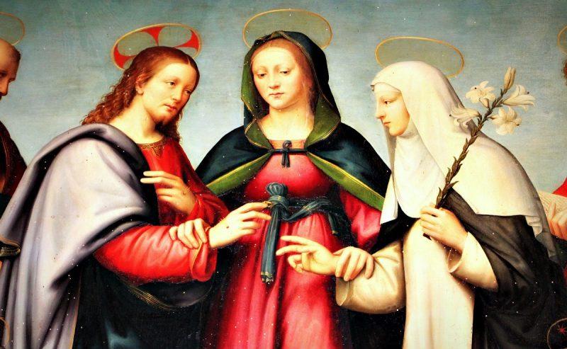 Il Matrimonio mistico di Santa Caterina da Siena