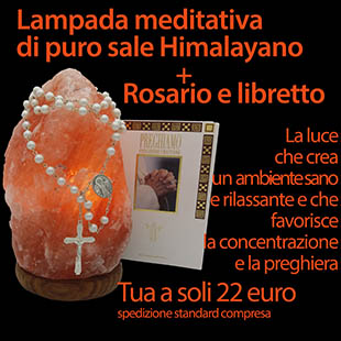 offerta lampada sale Himalaya e rosario