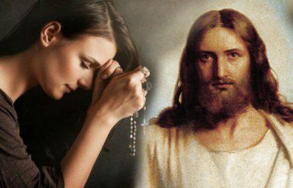 Vuoi che Gesù interceda per te? Papa Francesco spiega come fare