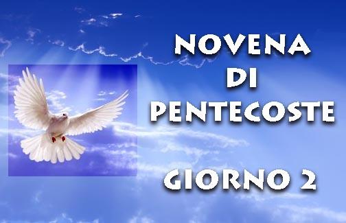 Novena di Pentecoste: secondo giorno