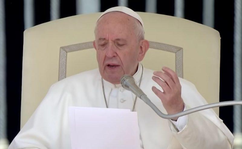 Papa Francesco spiega perchè cambia il Padre Nostro