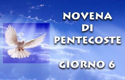 Novena di Pentecoste: sesto giorno