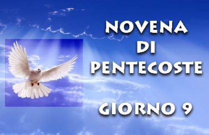 Novena di Pentecoste: nono giorno