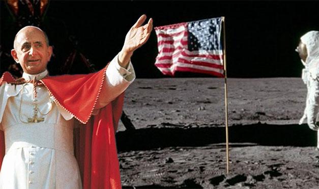 Quelle parole di Paolo VI sotto la bandiera piantata sulla Luna 50 anni fa