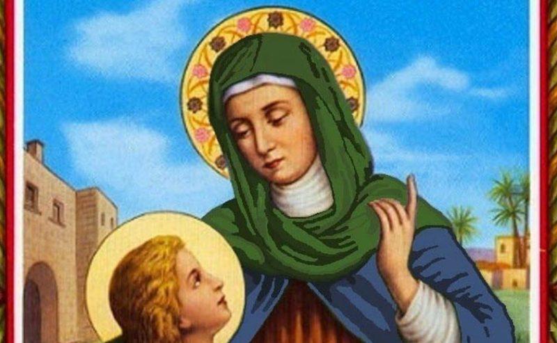 Preghiera a Santa Anna per la prole