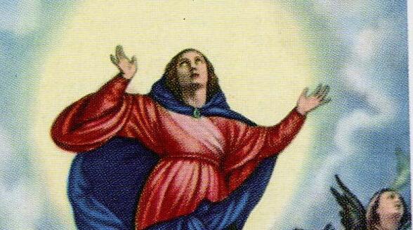 Potente preghiera alla Beata Vergine Assunta in Cielo