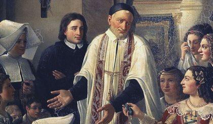Segui i consigli cristiani di San Vincenzo de' Paoli
