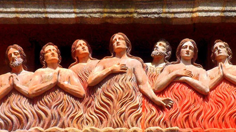 Dio insegnò a Santa Matilde come pregare per le anime del Purgatorio