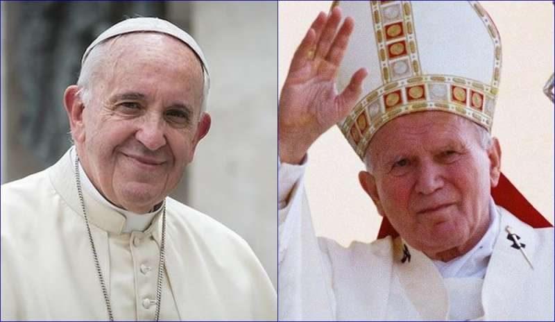 San Giovanni Paolo II: il suo testamento spirituale nelle parole di Papa Francesco