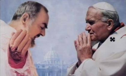 Il discorso di beatificazione di padre Pio di Carol Wojtila