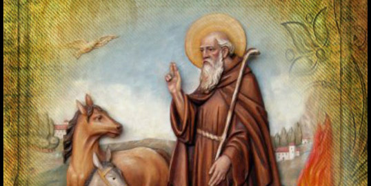 Sant'Antonio Abate proteggici da ogni insidia
