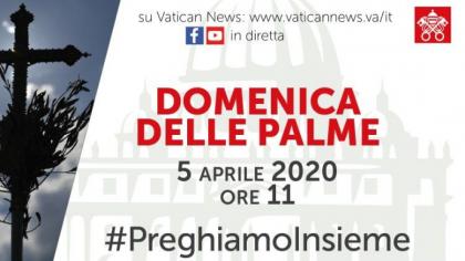 Santa Messa della Domenica delle Palme da San Pietro – diretta