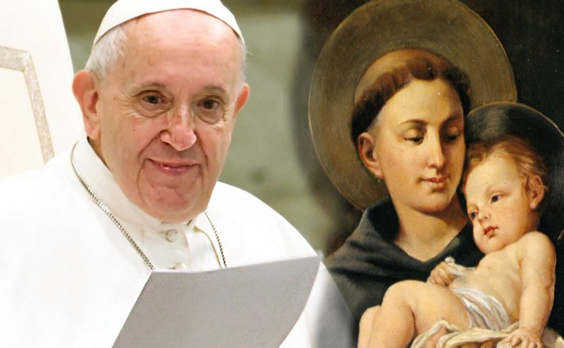 Papa Francesco e le Sue parole dedicate a Sant'Antonio da Padova