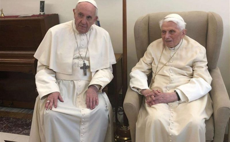 Cosa ha scritto Papa Francesco a S.S. Papa emerito Ratzinger