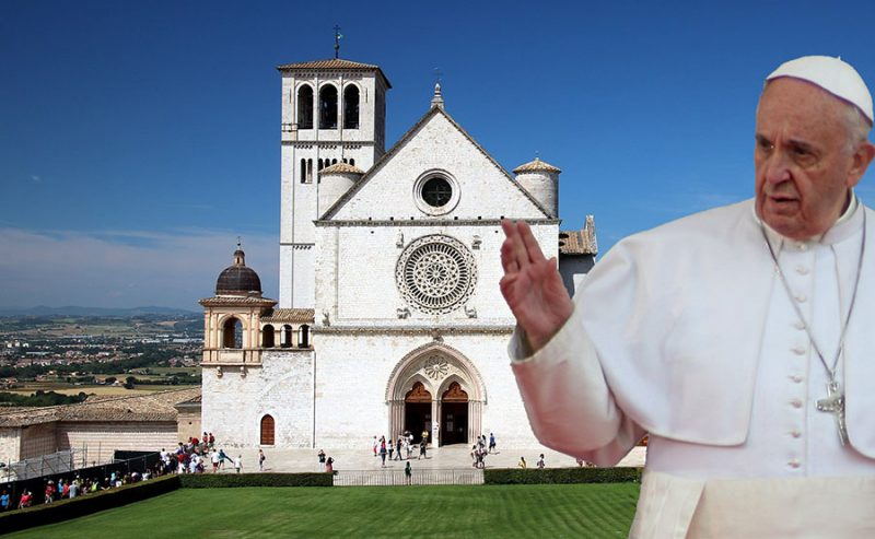 Video di Papa Francesco ad Assisi e la nuova enciclica: ecco il racconto