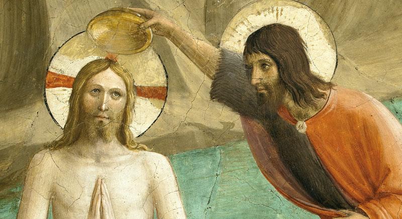 Perchè anche Cristo si fece battezzare?